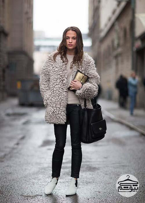 آلیسیا ویکاندر چگونه لباس میپوشد؟