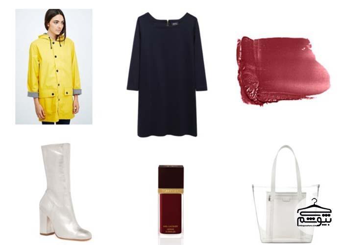 چگونه بارانی و پالتوی زرد بپوشید؟