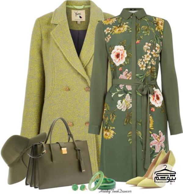 انتخاب لباس مجلسی گلدار