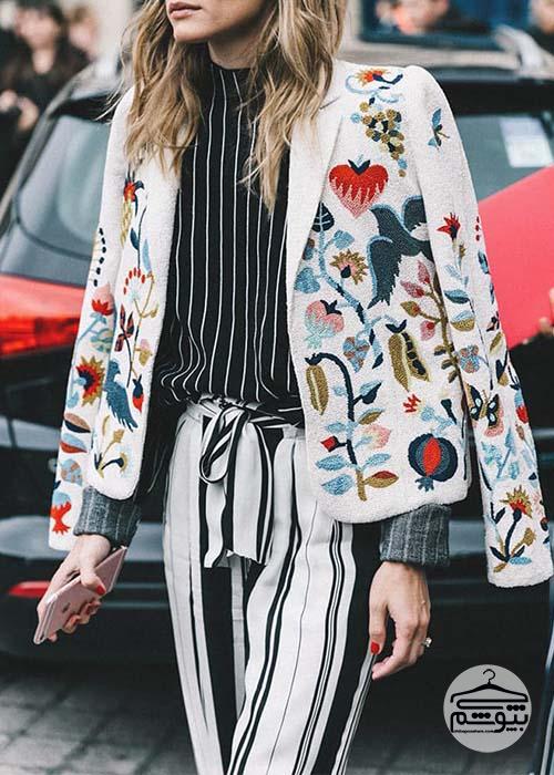 مدلهای جدید در لباسهای زنانه در سال 2017