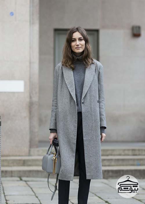 پالتو زنانه خاکستری یا شتری؟ کدام را بخرم؟
