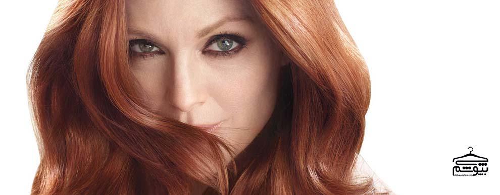 رنگ مو را بر اساس رنگ چشمتان انتخاب کنید