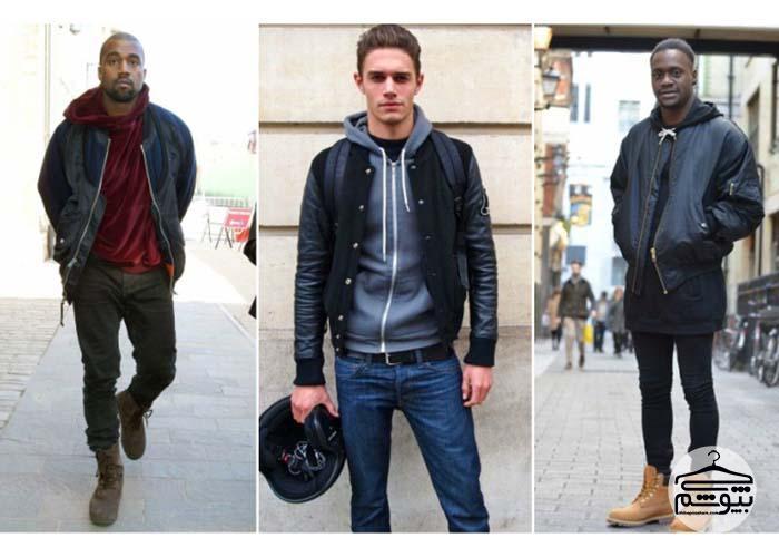 انواع هودی مردانه و روشهای پوشیدن آن