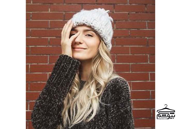کلاه زمستانی مناسب بر اساس مدل موی شما