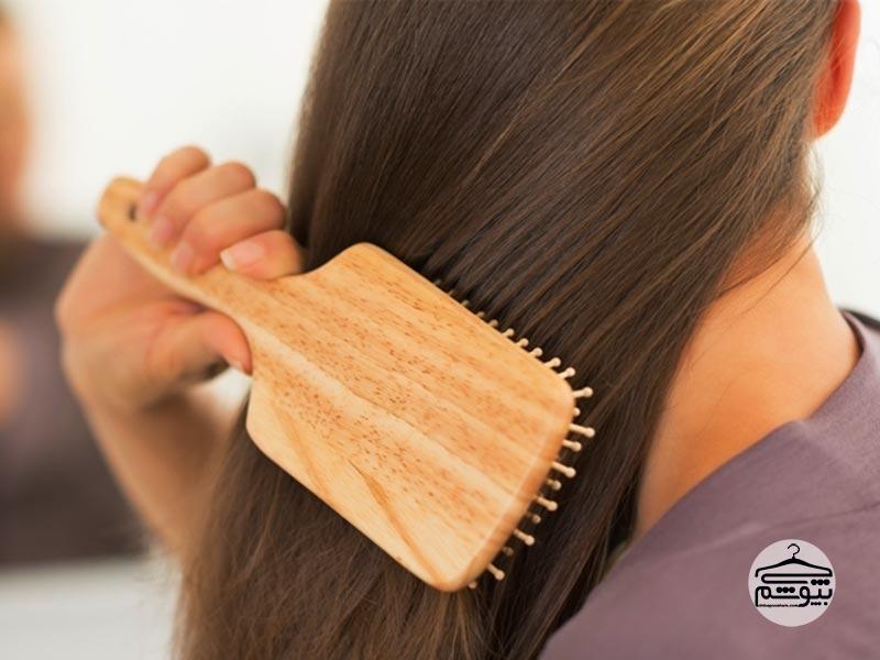 موها را بیش از حد شانه نکنید!