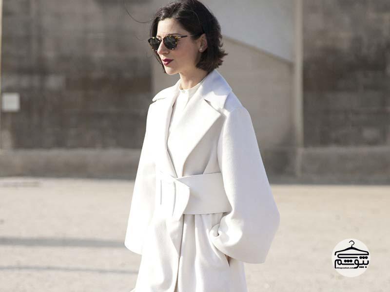 نحوه ست کردن لباس سفید رنگ