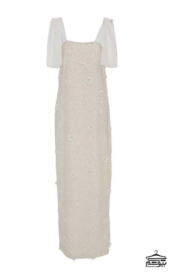 مدل لباس عروس زهیر مراد کارولین هایدن طراح لباسهای عروس کلاسیک