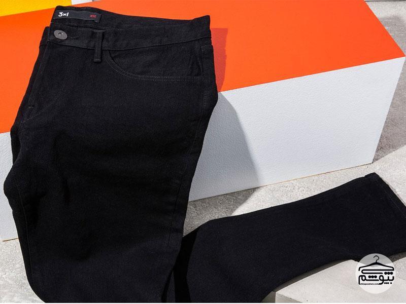 همراه با شلوار جین مشکی چی بپوشیم ؟