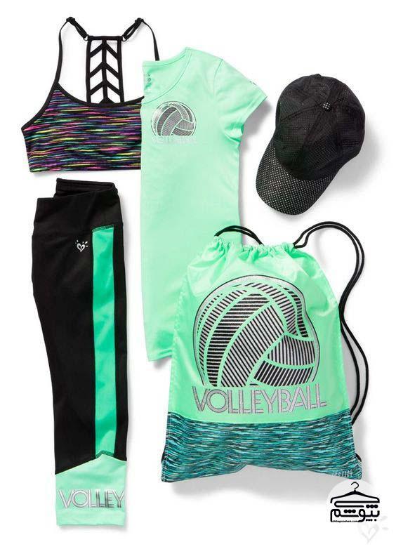 ست لباس ورزشی زنانه