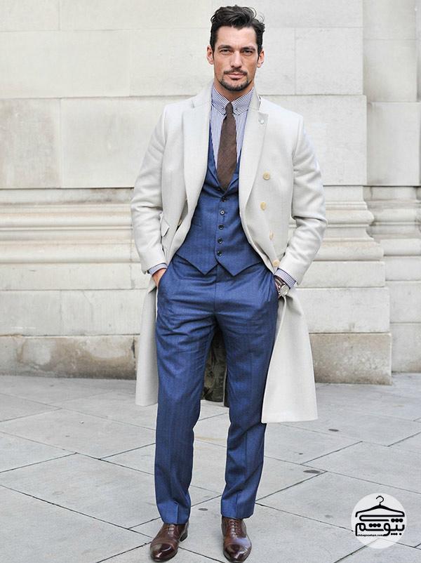 چگونه مثل دیوید گندی لباس بپوشید؟