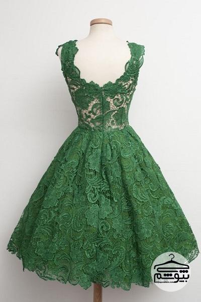 لباس مجلسی سبز را امسال بپوشید