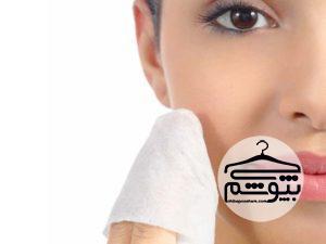 روش صحیح پاکسازی پوست با دستمالهای پاککننده