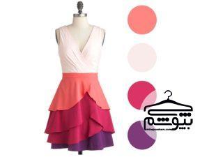 چند ترکیب رنگ جدید و جذاب برای لباسهای زنانه