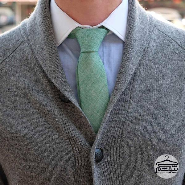 شخصیت شناسی از روی گره کراوات