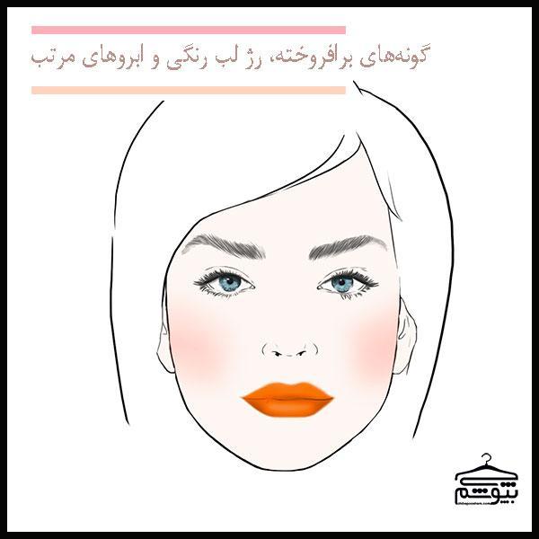 ارتباط آرایش صورت و نوع شخصیت شما
