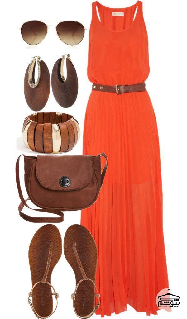 با لباس قهوهای چه رنگی بپوشیم