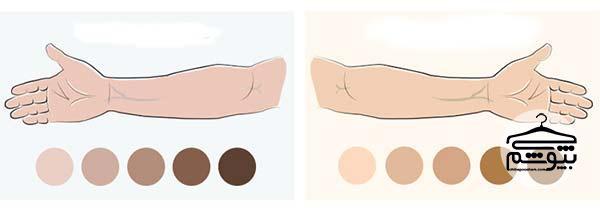 رنگ کدام لباس مناسب رنگ پوست من است؟