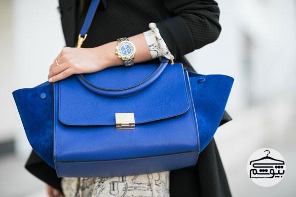 ایدههایی برای ست کردن لباس آبی یاقوتی