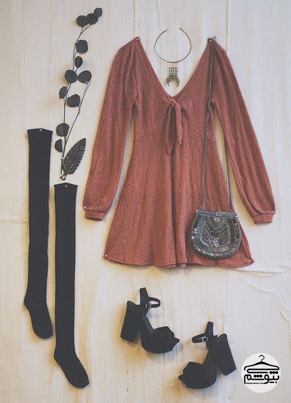 معرفی چند ست لباس زنانه به سبک بوهو