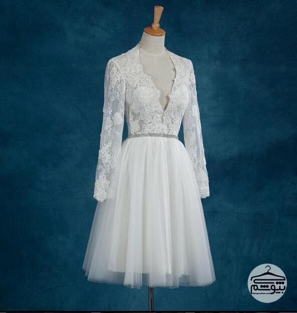 نکاتی درباره انتخاب لباس عروس کوتاه