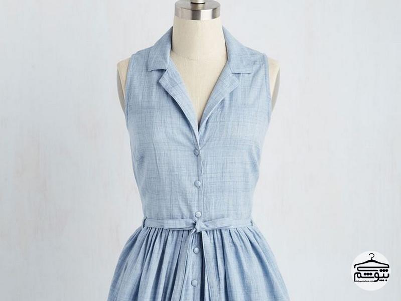 روش ست کردن لباس زنانه کتان
