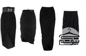 چند روش برای پوشیدن دامن مشکی مجلسی