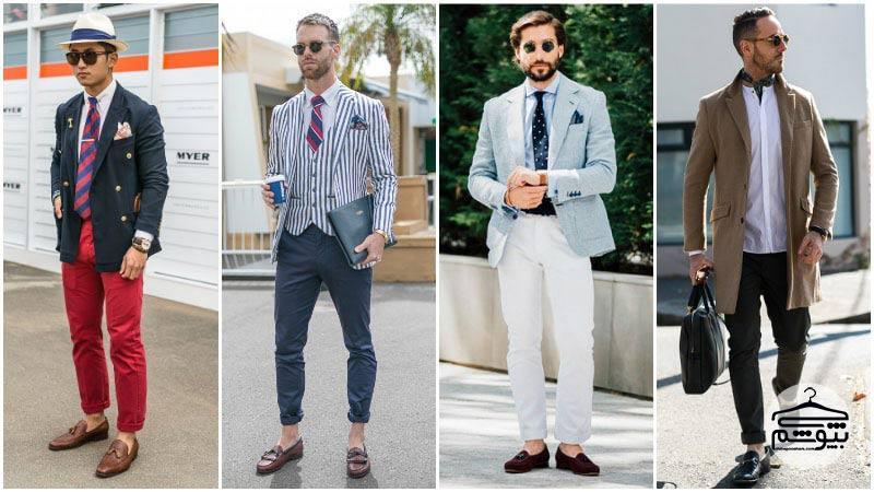 اصول ست کردن شلوار کتان و کفش مردانه