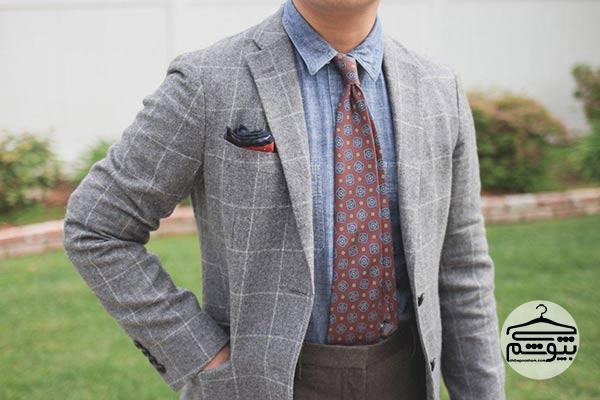 طول مناسب کراوات مردانه چقدر است؟