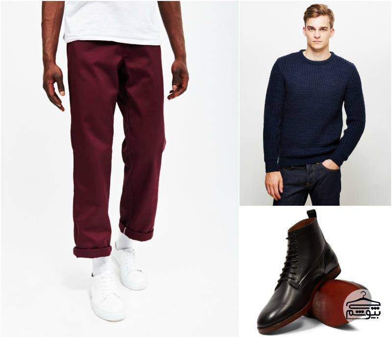 بهترین ترکیب رنگ لباس مردانه