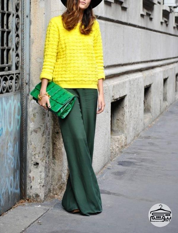10 ترکیب رنگ مناسب برای لباس زنانه