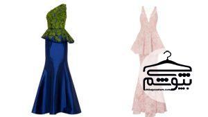 نکاتی درباره انتخاب لباس مجلسی مدل ماهی