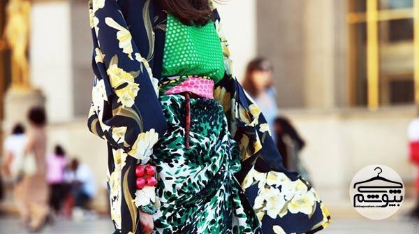 اصول انتخاب لباس زنانه طرحدار