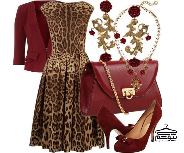 لباس مجلسی پلنگی