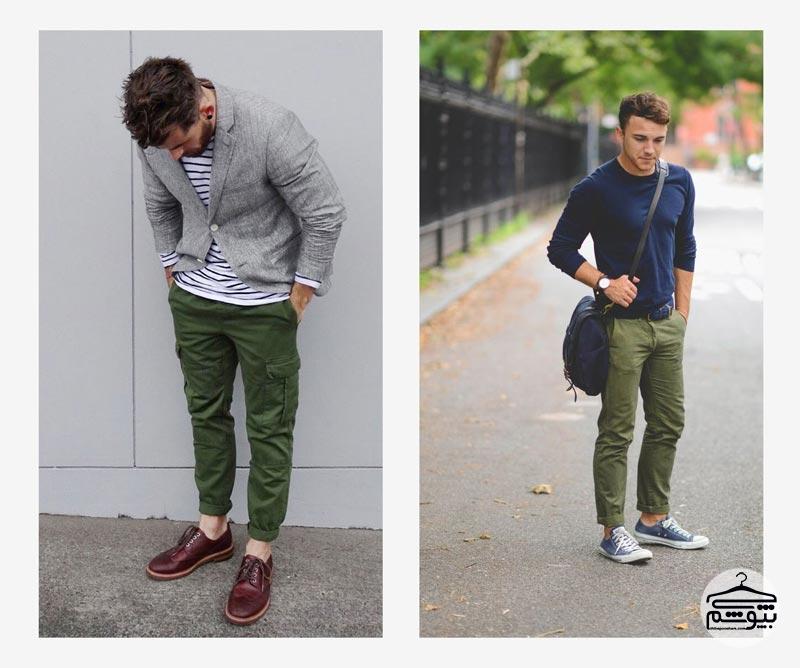 چگونه شلوار مردانه رنگی بپوشیم؟