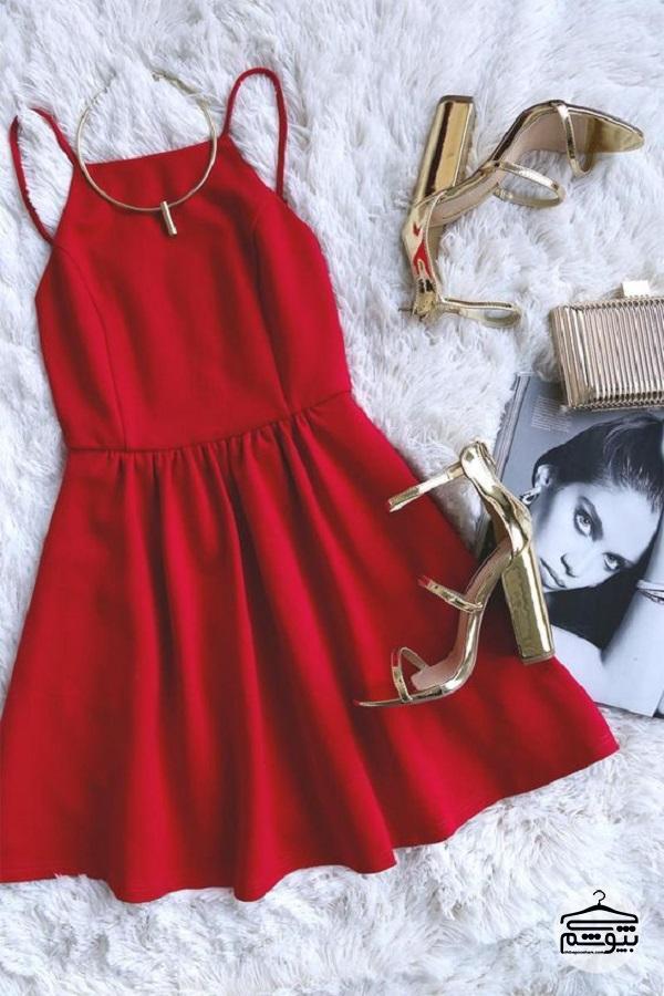 چرا لباس مجلسی قرمز گرم بپوشیم؟