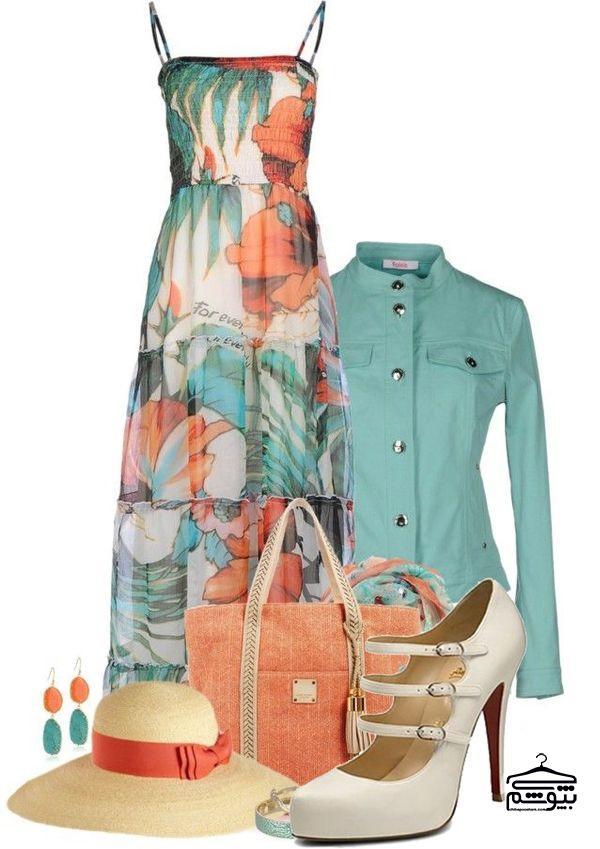 لباس ماکسی مناسب فرمهای بدنی مختلف