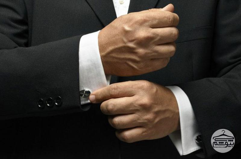 تیپ مردانه شیک با کت و شلوار ارزان