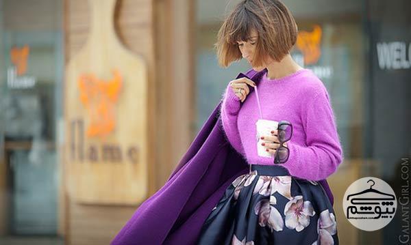 لباس مناسب برای آرایش با رژ لب قرمز