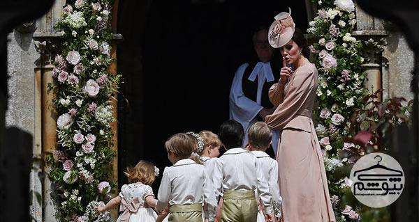 لباس عروسی رویایی پیپا میدلتون