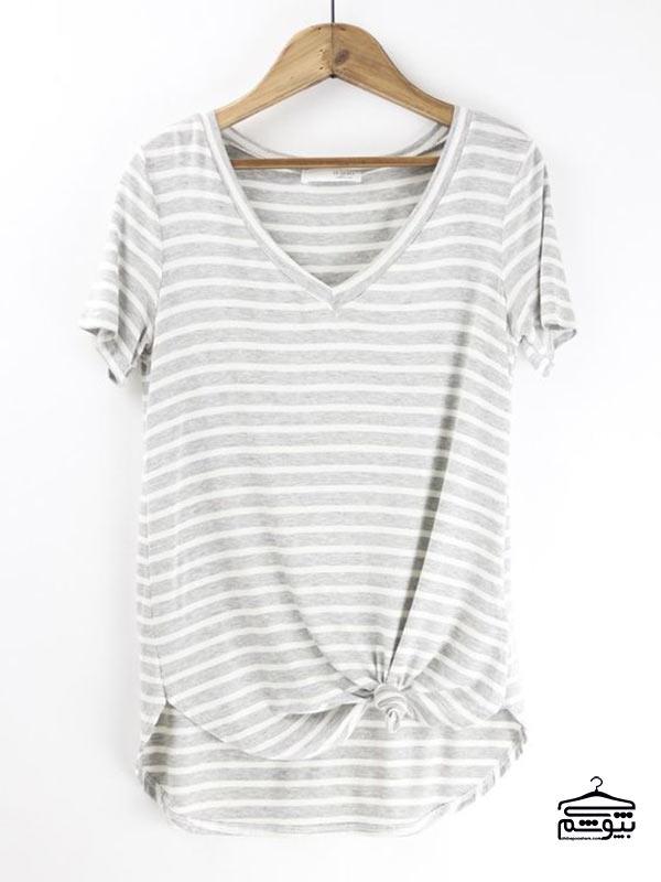 کدام مدل تی شرت زنانه مناسب من است؟