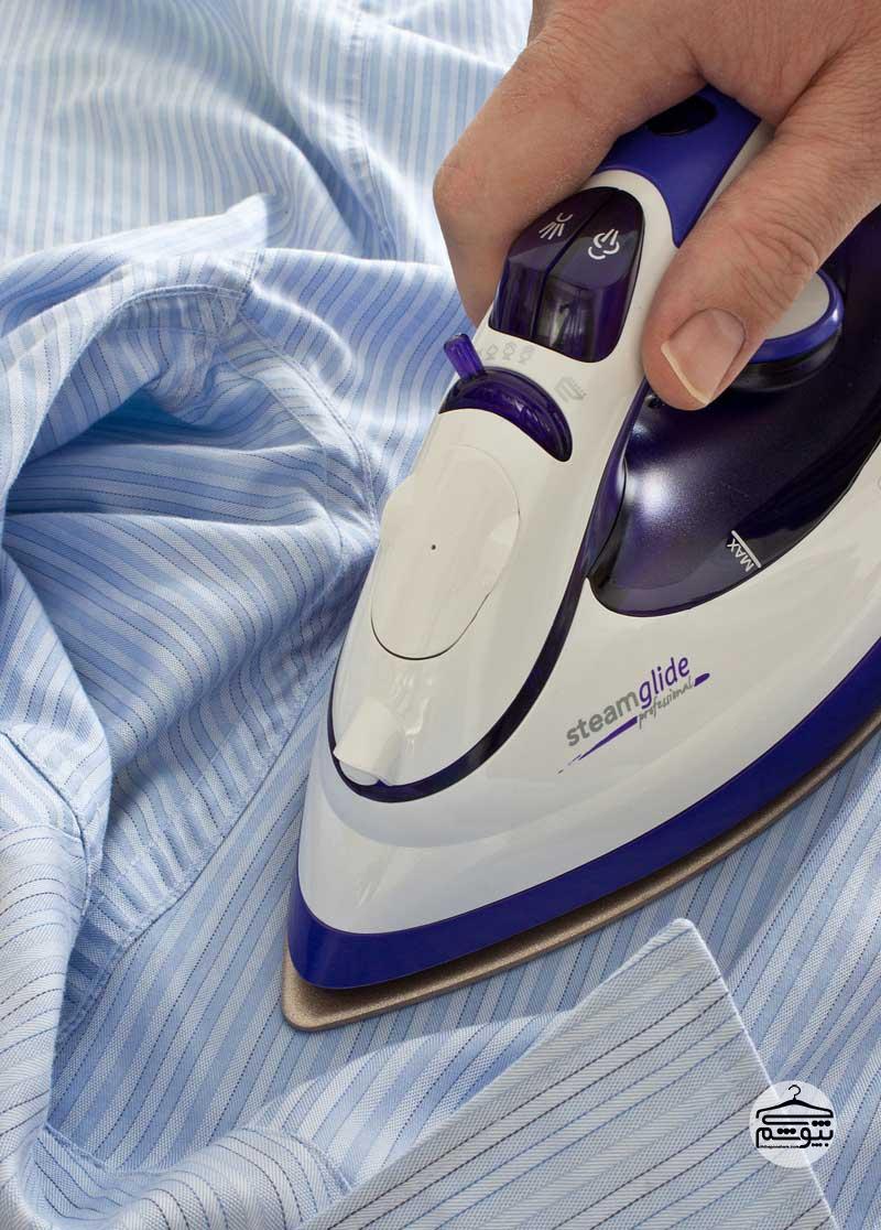 تمیز کردن اتو