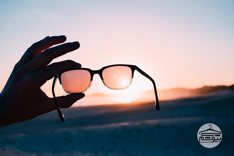 عینک آفتابی تقلبی فاقد شماره سریال است