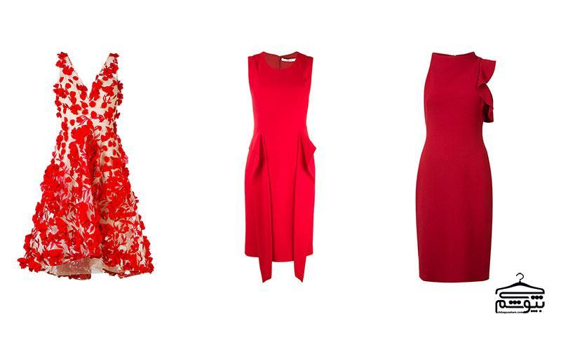 چگونه برای لباس مجلسی قرمز خود اکسسوری انتخاب کنیم؟