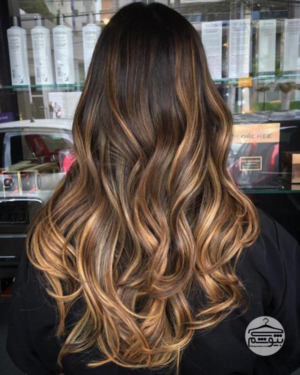 همه چیز درباره رنگ مو آمبره و آموزش گام به گام تکنیک رنگ موی آمبره