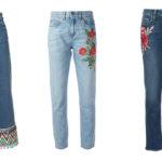 با شلوار جین گلدوزی شده چی بپوشیم ؟