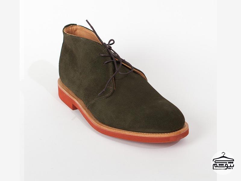 کفش مردانه چرم