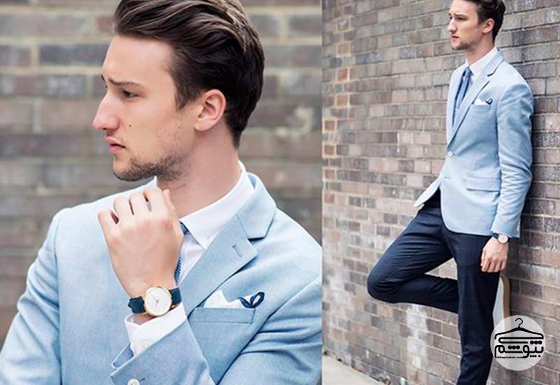 چگونگی همراه کردن طرح و رنگ در لباسهای مردانه با سبک و سیاق تابستانی