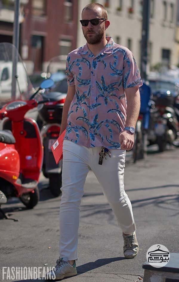 لباس های مردانه در هفته مد میلان ۲۰۱۸