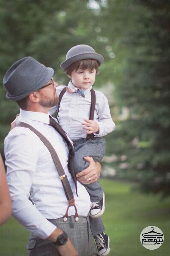 ست لباس پدر و پسر