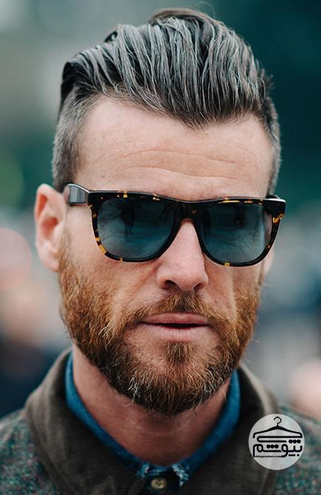 مدل موی مردانه مناسب برای شقیقه های عقب رفته